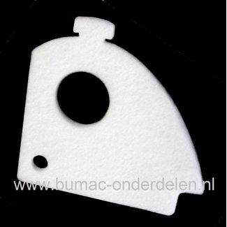 Luchtfilter voor Dolmar en Makita Kettingzaag - Motorzaag Luchtfilter voor Dolmar PS34, PS36, PS41 en PS45 en Makita DCS34 Kettingzaag Dolmar PS-34 Filter