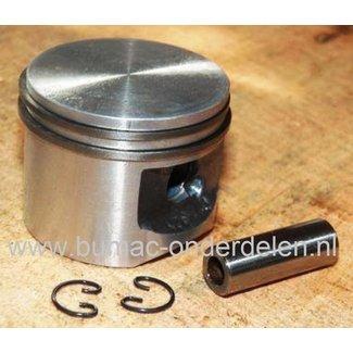 Zuiger Ø 45 mm voor Stihl 029 en MS290 Kettingzaag - Motorzaag Zuiger Compleet met Zuigerveren - Pistonpen en Borgclips voor Stihl 029 Benzinezaag