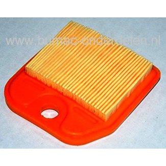 Luchtfilter voor Stihl Heggenschaar HS81R, HS81RC, HS81T, HS81TC, HS86R, HS86T Filter voor Stihl Heggeschaar