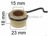 Wormwiel voor Aandrijving van de Oliepomp bij Stihl 064 - 066 - MS640 - MS660, Motorzaag, Kettingzaag.