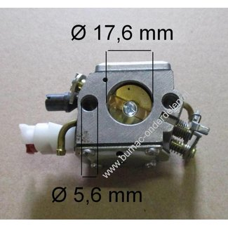 Carburateur voor HUSQVARNA 340 - 345 - 346XP - 350 - 351, JONSERED 2141 - 2145 - 2149 - 2150 - 2152 Kettingzaag - Motorzaag, Membraancarburatoren, Membraan Carburateurs voor Husqvarna, Jonsered, Partner, McCulloch Kettingzagen, Motorzagen, Vergassers Zama