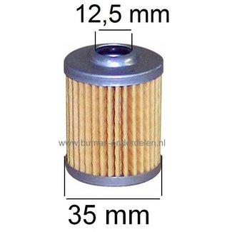 Dieselfilter - Brandstoffilter voor Mitsubishi - Robin - Takeuchi en Yanmar Motor op Generator - Trilplaat - Minikraan - Aggregaat - Waterpomp - Bobcat Filter voor Dieselmotor