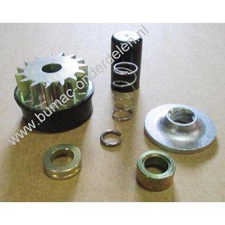 Startmotor Reparatie set voor Briggs and Stratton Startmotor 15 Tands op onder andere Vanguard Motor