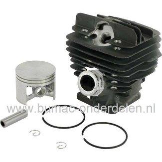 Cilinderset Stihl 034 - 036 - MS360, Kettingzaag - Motorzaag, Cilinder met Zuiger en Veren Compleet