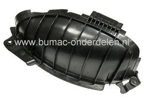 Mulchplug - Deflector voor Castelgarden XD98 - XD140 - XDL170 - XDL190HD - L185BH, Stiga Estate Tornado en SD98, met een Maaibreedte van 98 Cm, Mulch, Zijuitworp, Castel Garden, Mulch Plug,
