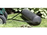 Grasrol - Tuinwals - Gazonrol 100 cm Voor Zitmaaier - Quad - Frontmaaier of Tuintrekker Gazonwals te vullen met water en van Degelijk Polyethyleen