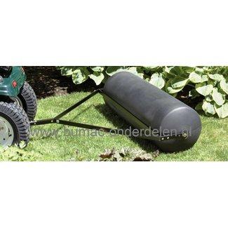 Grasrol - Tuinwals - Gazonrol 100 cm Voor Zitmaaier - Frontmaaier of Tuintrekker Gazonwals te vullen met water en van Degelijk Polyethyleen