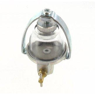 Brandstoffilter voor Briggs and Stratton Vanguard Motoren Benzinefilter met Decanteerbol, Filter met Benzinebokaal, Kohler, Tecumseh