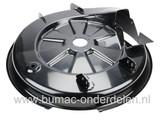 Maaidek 85 Cm voor Alko, Solo, Brill en HVC Zitmaaier, Maaihuis komt onder andere voor op T13-82HD, T13-85HB Lux, T13-85HD, T14-85-HD Zitmaaier, Tuintrekker
