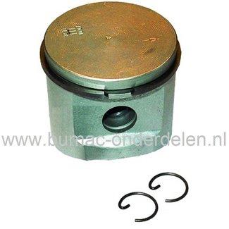 Zuiger Ø 38 mm voor Husqvarna 235R Bosmaaier, Motorzeis, Trimmer Zuiger Compleet met Zuigerveren, Pistonpen en Borgclips