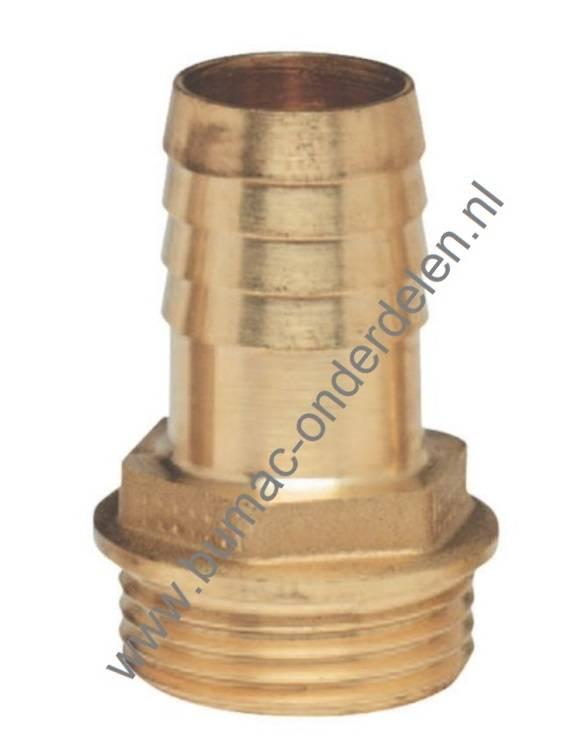 Favoriete Slangtule 1 Inch x Ø 20 mm Messing Slangverbinder voor Waterslang VK96
