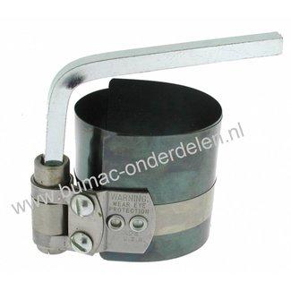 Zuigerveerspanband om eenvoudig en snel zuigerveren te spannen op een zuiger en de zuiger in de motorblok te schuiven, Zuigerverenspanner,Zuigerveerspanner,Zuigerveer Spanband