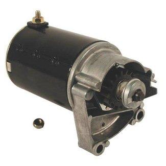 Startmotor voor Briggs en Stratton Motor met 16 Tands Bendix Tandwiel voor Zitmaaiers - Frontmaaiers en Tuintrekkers