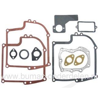 Pakkingset voor 7 - 8 Pk Briggs and Stratton Motor met Horizontale of Verticale Krukas, Dichtingset voor B&S Motor