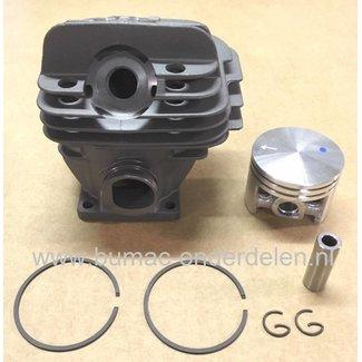Cilinderset STIHL 026 en MS260, Kettingzaag - Motorzaag, Ø 44 mm Cilinder met Zuiger en Zuigerveren Compleet