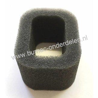 Luchtfilter voor Dolmar, Makita Bosmaaier, Trimmer Schuimfilter voor Dolmar LT30, MS30, MS31 Makita DST300, DBC300 Motortrimmer