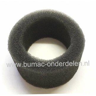 Luchtfilter voor Dolmar en Makita Bosmaaier, Bermmaaier, Schuimfilter voor Dolmar MS4100, Makita RBC410 Maaiers MS 4100, RBC 410