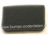 Luchtfilter voor Dolmar en Maikta Bosmaaier, Trimmer Schuimfilter voor Makita EM2651, ER2650LH, EX2650LH Motortrimmers