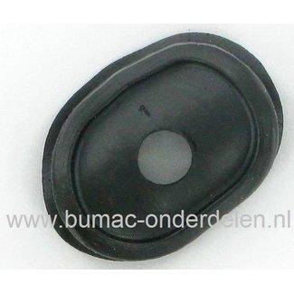 Afdichtingsrubber voor Decompressieklep Stihl TS400 Bandenzaag, Motorslijper,Stenenslijper Doorvoer Tule