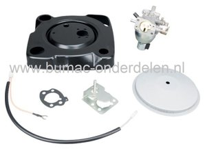 Carburateur voor 16 Pk B&S Vanguard 2 Cilinder Motoren , Carburator voor Zitmaaier, Frontmaaier, Tuintrekker
