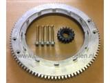 Starterkrans Aluminium voor Briggs and Stratton Motor op Zitmaaier Frontmaaier Trekker