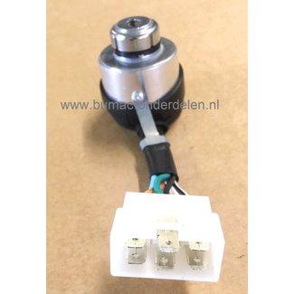 Contactslot voor  Loncin LC6500DDC, LC3800DDC, 5500, 6500, Kontactslot voor Zitmaaiers, Tuintrekkers, Electrisch Contact Aggregaat, Generator