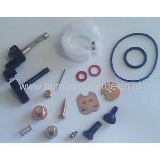 Reparatieset voor Honda GX160 Carburateur, Honda Carburateur Onderdeel Vlotter, Chokehendel, Gashendel, Vlotterbak Pakking, Stelschroef, Naald, Veer, Klep
