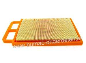 Luchtfilter voor Dolmar - Makita Bandenzaag, Doorslijper, Betonzaag, Motorslijper  PC-6112, PC-6114, EK6100, EK6101, PC6112, PC6114