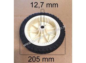 Voorwiel - Aandrijfwiel voor Toro Recycler met 22 Inch - 56 Cm Maaibreedte Wiel met Aandrijfring Grasmaaier, Grasmachine 20001, 20003, 20005, 20007, 20012, 20016, 20019, 20064, 20065, 20069, 20071, 20072, 20072A, 20086, 20087, 20094, 20110, 20111 Maaidek