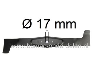 Linker Maaimes 62 Cm  voor Lawn Boss, AGS, Axxom, Herkules Zitmaaier, Tuintrekker met 48 Inch - 122 Cm Achter Opvang Maaidek  LawnBoss 6422H