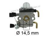Carburateur voor Stihl Bosmaaier, Heggenschaar, Trimmer FS75 - FS76 - FS80 - FS85 Carburator