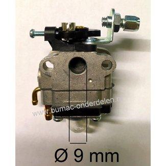 Carburateur voor Honda GX22, GX31 Motor op  Bosmaaier, Heggenschaar, Bladblazer, Waterpomp