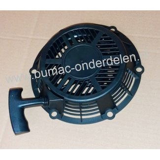 Handstarter voor Loncin LC1P75F motoren op Grasmaaier, Houtversnipperaar, Veegmachine en Motorkruiwagen, Startmechanisme, Repeteerstarter, Reversiestarter