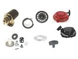 Starterdelen voor B&S - Honda - Kohler - Kawasaki - Tecumseh Motoren op Grasmaaier - Zitmaaier - Tuinfrees - Trilplaat - Aggregaat - Kart - Houtversnipperaar - Generator - Hoogwerker - Minikraan - Bobcat - Enz