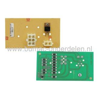 Printplaat voor Castelgarden, Stiga, Alpina, Mountfield Zitmaaiers, Skelters, Electronischekaart voor EL63, 625M, BT63VB, CG6/63M, CG6/63MB, CG6/63VMB, EB6/63E, EF63C/65M, Garden Compact, GB6/63M, Mac Allister GB6/63M, PE60VD, GGP