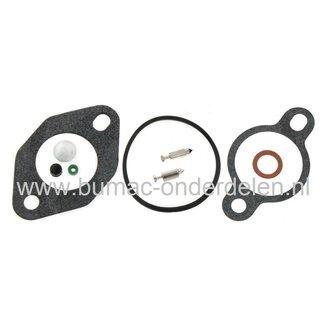 Carburateur Reparatieset voor Kohler Motor voor onder andere John Deere Zitmaaiers, Wide Mulchers, Tuintrekkers, Vergasser Reparatiekit, Pakkingen, Dichtingen voor Carburator van JOHNDEERE, G15, G18, GS25, GS30, GS45, GS75, GT225, L110, LT133, LT150, LT16