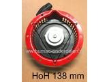 Handstarter Honda G150 - G200 - GX120 - GX140 - GX160, Starter Compleet met 1 Startpal voor Kantensnijders - Kooimaaiers - Aggregaten - Verticuteermachines - Trilplaten - Karts