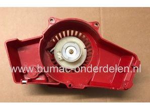 Handstarter voor Robin, Dolmar, Makita, Subaru Bosmaaiers met Robin EC04 Motor, Trekstarter voor NB411 Bosmaaiers, Bermmaaiers, Trimmers, Repeteerstarter, Starter Compleet