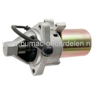 Startmotor 14 Tands  voor Loncin G340FD, G390FD, G420FD Motoren op Veegmachine, Trilplaat, Tuinfrees, Cart, Hakfrees, Bladblazer, Houtversnipperaar, Kloofmachine, Mechanische Troffel, Kart, Zodensnijder, Zitmaaier, LONCIN Starter voor G 340 FD, G 390 FD,