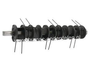 Verticuteerrol voor Alko - Solo Verticuteermachine  32 VLE Combi,  Verticuteeras voor Ontmosser 32 Cm, Verticuteerveren