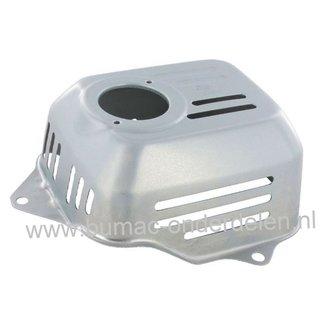 Hitteschild voor Honda GC135 - GC160 - GC190 - GCV135 - GCV160 - GCV190 Motor op Grasmaaier - Veegmachine - Verticuteermachine  uitlaatbeschermkap - Rooster
