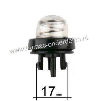 Primer voor Stihl Bladblazer, Motorslijper, Bandenzaag  BR500, BR550, BR600, TS700, TS800, Primer- Balg voor het oppompen van de Benzine
