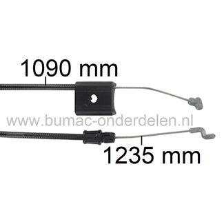 """Motorremkabel voor Murray, Noma, Snapper, Simplicity 20"""" - 51 Cm Grasmaaiers, Kabel Motorstop voor 20405 D/E/x30B/x30C/x82B/x82C, 20406 B/C/x83B/x83C, 20415 14A/8A/8B/8C/31A/31B/50A/83B/83C, 20416x50A, 20425 192A/192B/194A/194B/92A/92B/94A"""