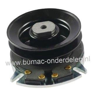Elektrische Meskoppeling voor Alko - Solo - Brill - Viking en JohnDeere Zitmaaiers T18-102HD,  T18-102HDE, T20-102HD, T20-102HDE Masport, T15-95.6 HD-A, T16-102.6 HD V2, T16-103.7 HD V2, T16-105.6 HD V2, T20-105.6 HD V2, T23-125.6 HD V2
