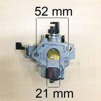 Carburateur voor Loncin G270FD Motor Carburator voor Trilplaat, Generator, Veegmachine, Bladblazer, Tuinfrees, Aggregaat, Hoogwerker, Hogedrukreiniger, Houtversnipperaar, Cart, Kooimaaier, Grasmaaier, Waterpomp