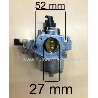 Carburateur voor Loncin G420F, G420FD, LC190F, G 420 F, G 420 FD Motorblok LCT Carburator voor Maaier, Veegmachine, Trilplaat, Aggregaat, Waterpomp, Generator, Cart, Houtversnipperaar, Houtklover, Verticuteermachine, Tuinfrees, Blower