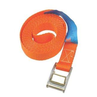 Degelijke Spanband - Sjorband voor het vastzetten van Lading zoals Grasmaaiers - Zitmaaiers - Frontmaaiers - Quads - ATV