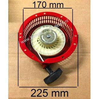 Handstarter voor Honda G300 Motor op Trilplaat, Generator, Zaagmachine, Veegmachine, Cart, Tuinfrees, Waterpomp, Aggregaat, Hogedrukreiniger Complete Startkap G 300