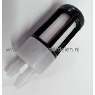Benzinefilter voor Stihl, bladblazer, bladzuiger, modellen ,  BR500, BR 550, BR600, BR700, BR 500, BR 550, BR 600, BR 700, STIHL brandstoffilter, aanzuigfilter