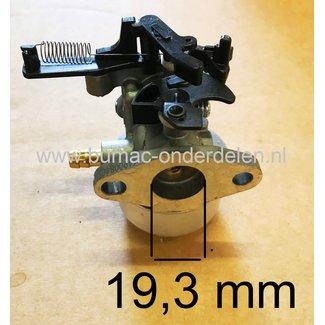 Carburateur voor Briggs and Stratton Motor op Grasmaaier, Grasmachine  Carburator met Automatische Choke voor Model  121Q, 121S, 124Q, 124S, 12Q, 12S